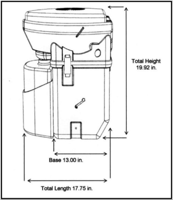 Natures Head Composting Toilet Diagram